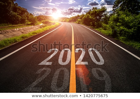 Road Sign with words New Beginning Stock photo © Quka