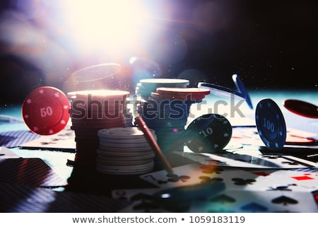 Spread deck of cards on poker table Stock photo © wavebreak_media