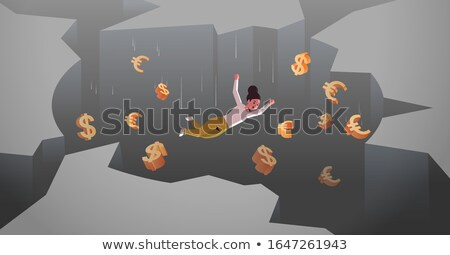 dollar falling in hole stock photo © iqoncept
