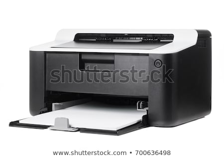 láser · impresora · aislado · negocios · cuadro · digital - foto stock © shutswis