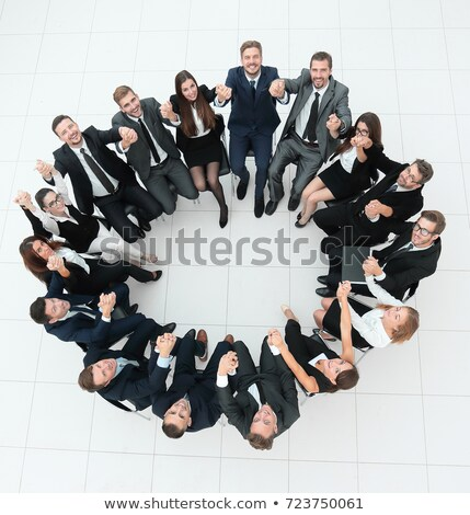 Team Building Concept on Billboard. Stock photo © tashatuvango