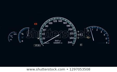 Verlicht dashboard stuur moderne auto zwarte Stockfoto © Witthaya