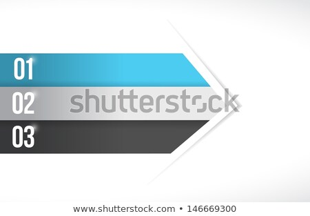 Colorful Lines For Customization Info Graphics Photo stock © alexmillos