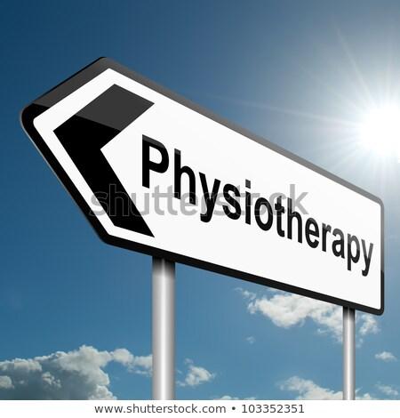 理学療法 · 女性 · 理学療法 · プロ · 医師 · スポーツ - ストックフォト © tashatuvango