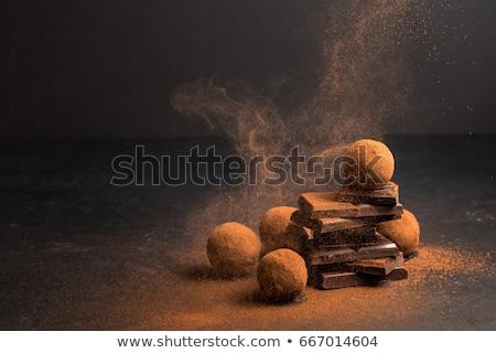 sweet luxury deliscious truffle pralines collection  Stock photo © juniart