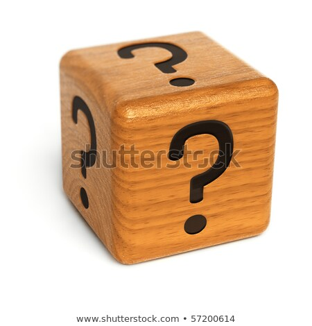 wooden dices and box stock photo © serpla