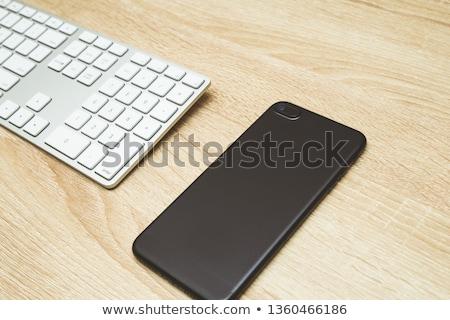 Sleek contemporary design of modern smartphones Stock photo © SophieJames