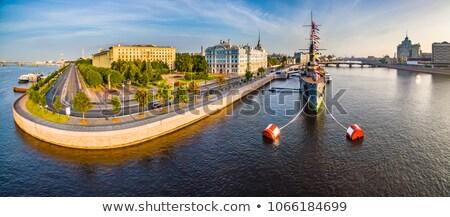 Aurora in Saint Petersburg Stock photo © sailorr
