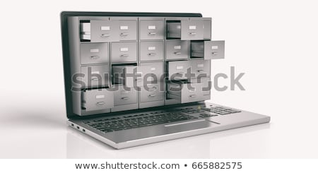 Concept for secure data storage stock photo © goosey