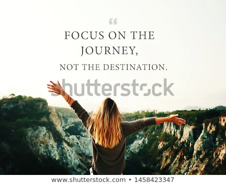 Success is a journey, not a destination. Stock photo © maxmitzu