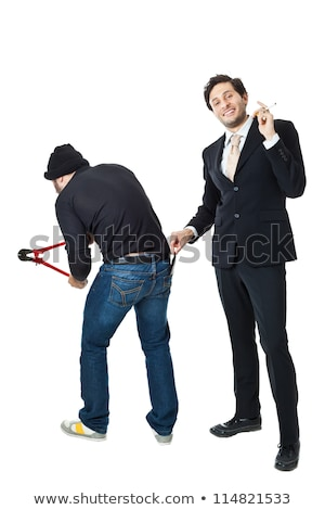 zakenman · zak · midden · klasse · man - stockfoto © jackethead