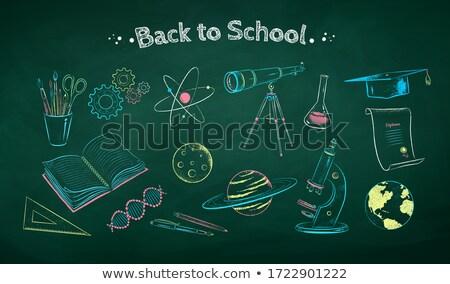 jon · solidny · przygotowanie · elektron · mikroskopem - zdjęcia stock © tashatuvango