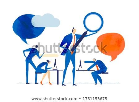cost management   magnifying glass stock photo © tashatuvango