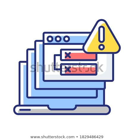 Http erro 500 servidor página homem Foto stock © stevanovicigor