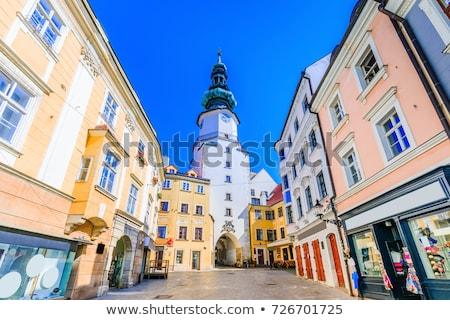 Michael''s Gate, Bratislava, Slovakia Stock photo © phbcz