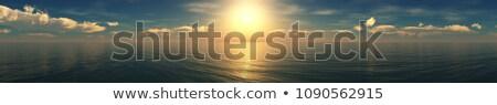 закат панорамный мнение Сток-фото © rabel