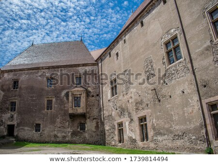 Inner Castle Courtyard Stock photo © marco_rubino