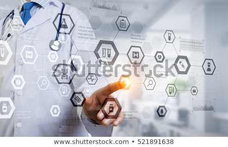 Healthcare, medical and future technology concept Stock photo © HASLOO
