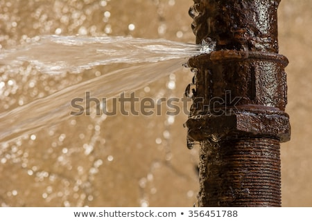 Stock photo: Leaking Pipe