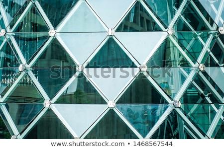 résumé · verre · design · ordinateur · généré · rendu · 3d - photo stock © 123dartist
