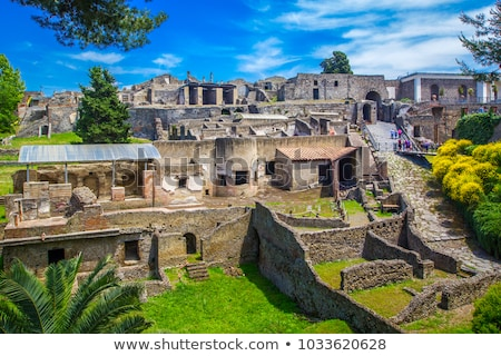 Stock photo: Pompeii