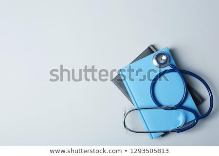 Orvosi illusztráció arc háttér tudomány sziluett Stock fotó © adrenalina