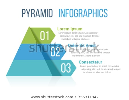 pirâmide · vetor · modelo · mapa · do · mundo · silhueta - foto stock © andrejco