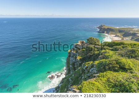 Cape Point landscape, located near the city of Cape Town, South  Stock photo © tang90246