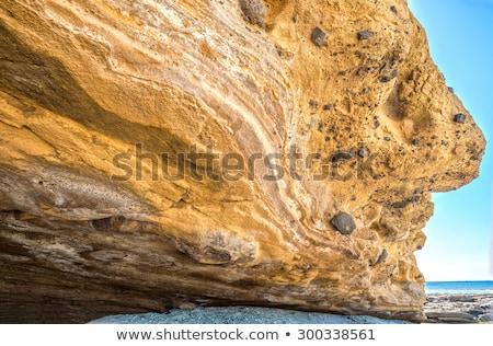 岩 のような 顔 ポルトガル 見える 死 ストックフォト © compuinfoto