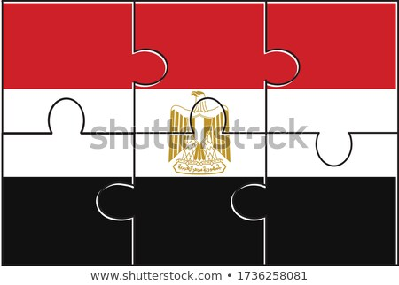 European Union and Egypt Flags in puzzle Stock photo © Istanbul2009
