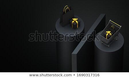 3次元の女 右 シンボル 白 戻る ストックフォト © nithin_abraham