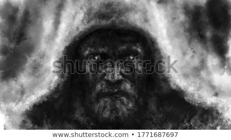 暗い · 森林 · 実例 · シーン · 1泊 - ストックフォト © lightsource
