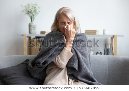 Diagnosis - Grippe. Medical Concept. Stock photo © tashatuvango