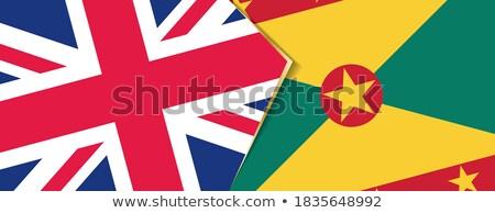 Regno Unito Grenada bandiere puzzle isolato bianco Foto d'archivio © Istanbul2009