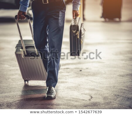 carrying businessman Stock photo © Paha_L
