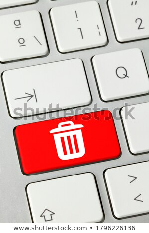 delete   written on red keyboard key stock photo © tashatuvango