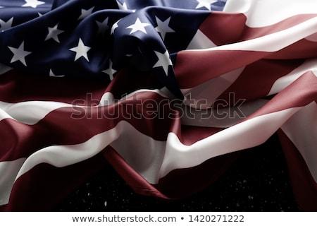 Görüntü amerikan bayrağı ahşap Stok fotoğraf © wavebreak_media