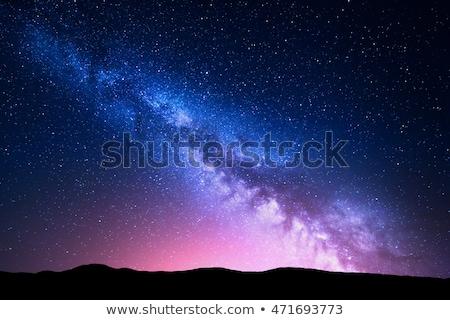 Stockfoto: Kleurrijk · nacht · stad · rivier · gebouwen