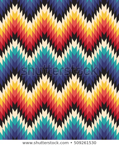 color native ethnic seamless pattern Stock photo © vector1st