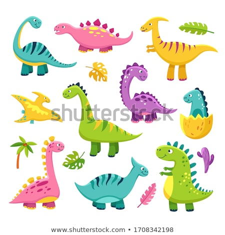 A group of dinosaurs Stock photo © bluering