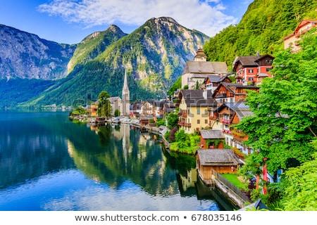 alpler · Avusturya · dağ · manzara · bölge · yaz - stok fotoğraf © kb-photodesign