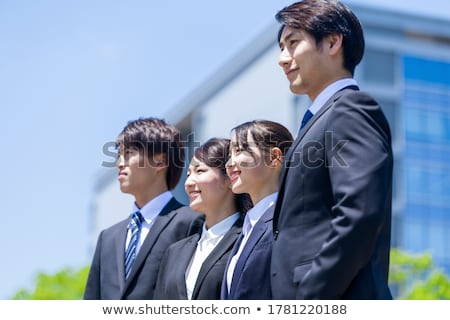 Cool man in port Stock photo © deandrobot