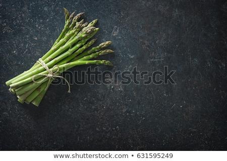 Bundle of fresh asparagus Stock photo © Digifoodstock