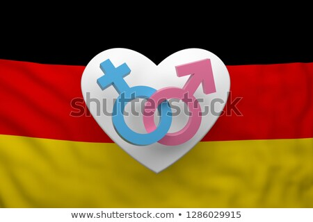 femme · symbole · sexe · égalité · jeunes - photo stock © drizzd