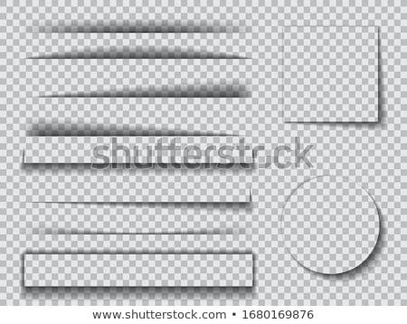 realista · papel · oscuridad · colección · vector · arte - foto stock © SArts