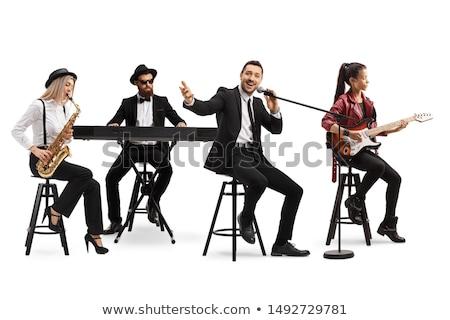 男性 歌手 演奏 ピアノ 音楽 コンサート ストックフォト © wavebreak_media