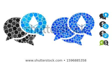 bitcoin · вебинар · икона · применение · веб-дизайна - Сток-фото © ahasoft