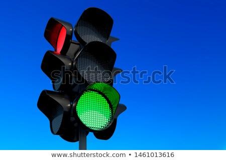stoplicht · groene · stedelijke · kleur · verkeer · veiligheid - stockfoto © olena