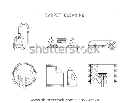 silhouetteof cleanliness linear style Stock photo © Olena