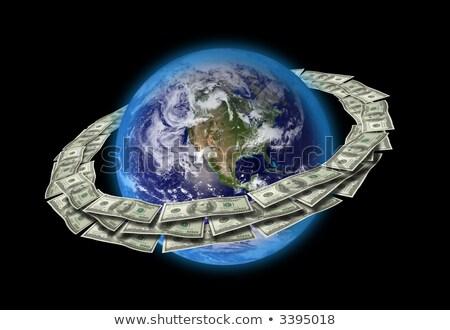 Http em torno de globo ilustração seta computador Foto stock © get4net